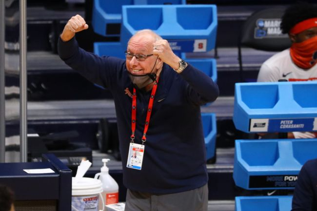 Jim Boeheim Syracuse March Madness NCAA