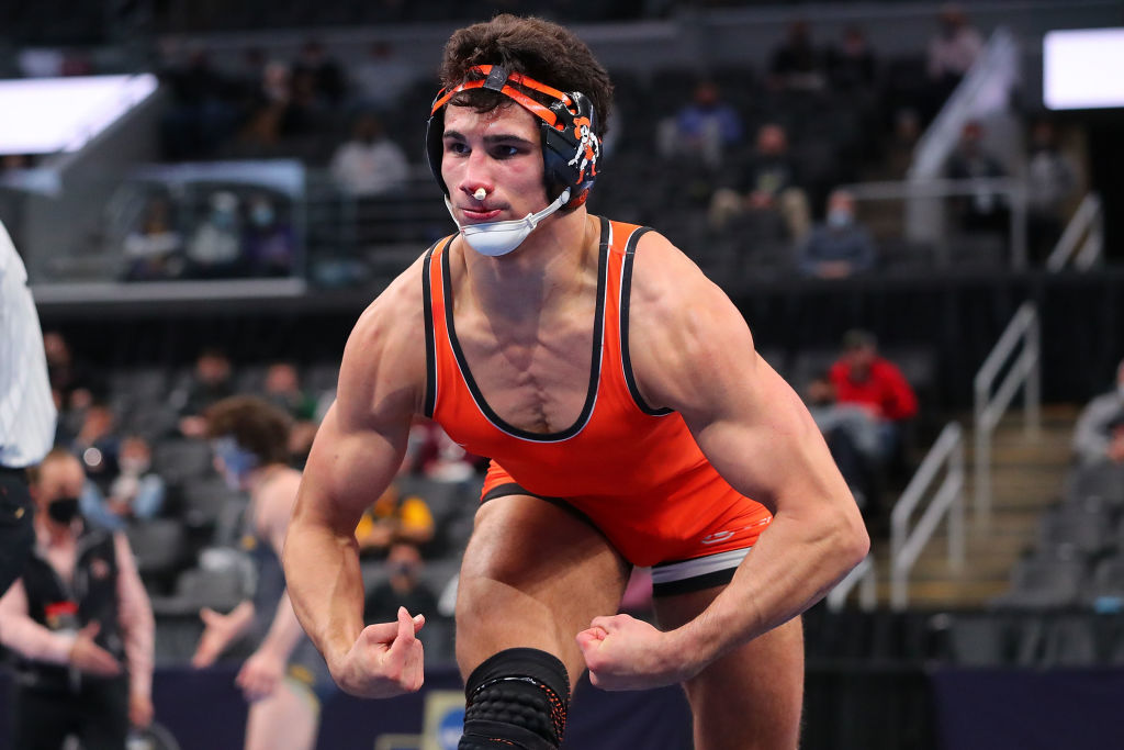 A J Ferrari Is The Most Exhilarating Wrestler In The Country And Will Make You Want To Run Through A Brick Wall Brobible