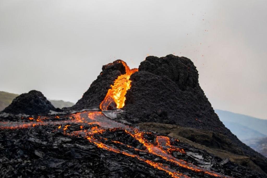 Fagradalsfjall volcano eruption Iceland