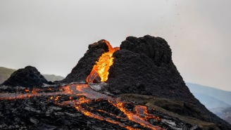 Drone Flies Through Erupting Icelandic Volcano And The Footage Makes Michael Bay Look Like An Amateur