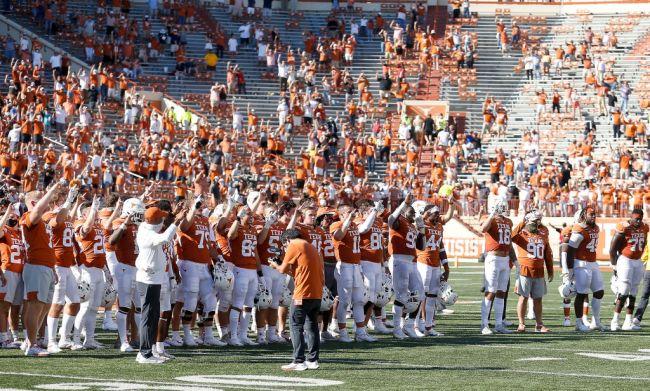Texas Longhorns Football Eyes Of Texas