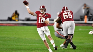 Bill Belichick Did Not Seem Impressed With Mac Jones' Throwing Ability At Alabama Pro Day