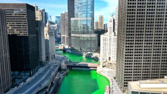 SURPRISE! Chicago River Dyed Green After City Previously Announced The Coolest Tradition In The Country Was Cancelled