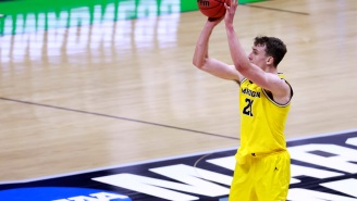 Michigan's Franz Wagner Gets The Meme Treatment After Airballing Potential Game-Winning Three-Pointer Vs UCLA To Go To Final Four