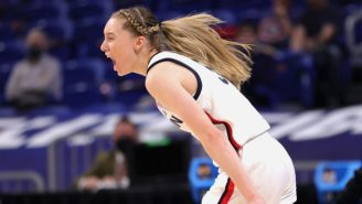 Paige Bueckers And UConn's Dominant Sweet 16 Performance Was Highlighted By A Butt Tap Heard Around The World