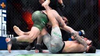 Sugar Sean O'Malley Knocks Out Thomas Almeida With A Vicious Bomb While Rocking Marijuana Leaf Haircut At UFC 260
