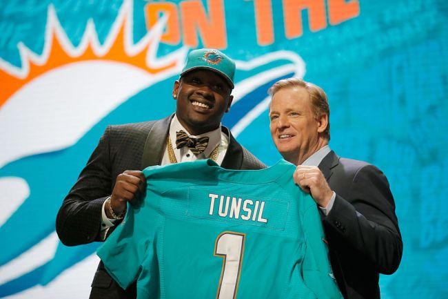 Laremy Tunsil Miami Dolphins NFL Draft