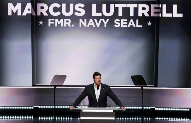 Former Navy SEAL Marcus Luttrell explains why his Joe Rogan Experience podcast appearance abruptly ended.