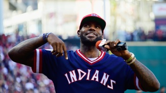 Indians/Yankees Superfan LeBron James Is Being Called A 'Fraud Baseball Fan' After Becoming Part-Owner Of The Boston Red Sox