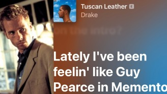 We Asked Guy Pearce How It Feels To Be A Lyric In A Drake Song
