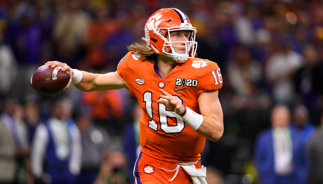 Jaguars Stadium Mocked For Using A Tracing Of Trevor Lawrence In Promo