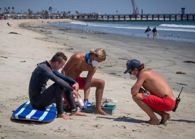 LA County Lifeguards Pay