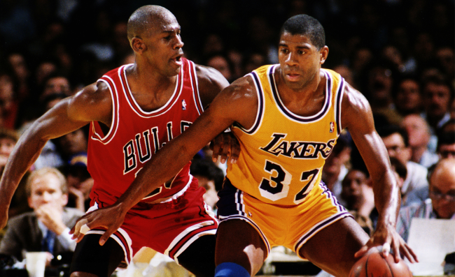Magic Johnson Reveals When He Knew The Michael Jordan Era Had Begun