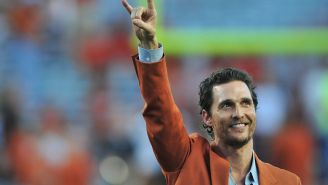 Matthew McConaughey Is Considering Running For Governor Of Texas In 2022