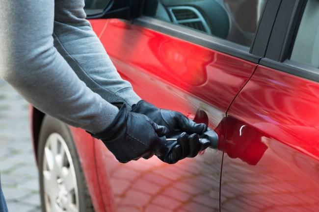 McLaren Thief Lock Change