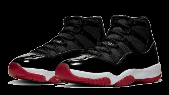 Nike Air Jordan XI Retro Bred Black Red