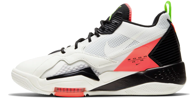 Nike Air Jordan Zoom '92 Sail Black Crimson