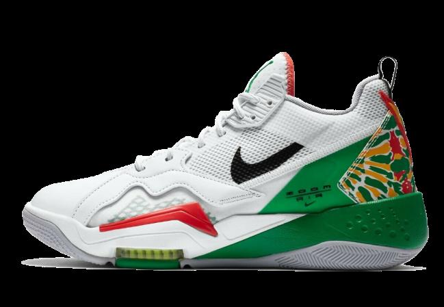 Nike Air Jordan Zoom 92 Summit White Lucky Green