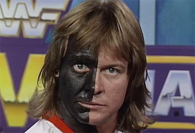 Roddy Piper Black Face