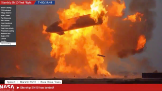 SpaceX Starship Goes Up In Fiery Explosion After First Successful Landing