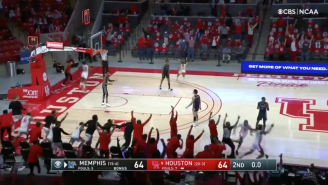 THIS IS MARCH! Houston Hits The First Buzzer Beater Of The Month To Beat Memphis In Crazy Fashion