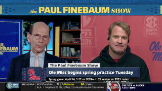 Lane Kiffin Put Paul Finebaum In His Place About A 2013 'Miley Cyrus' Comparison, It Was Awkward