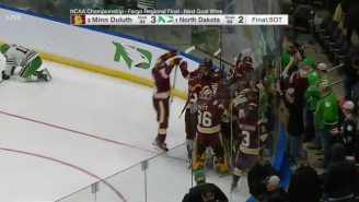 The Longest Game In NCAA Hockey Tournament History Ended In An Epic Upset For Minnesota Duluth