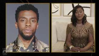Chadwick Boseman's Wife Accepts Late Husband's Golden Globe With Heartbreaking Speech