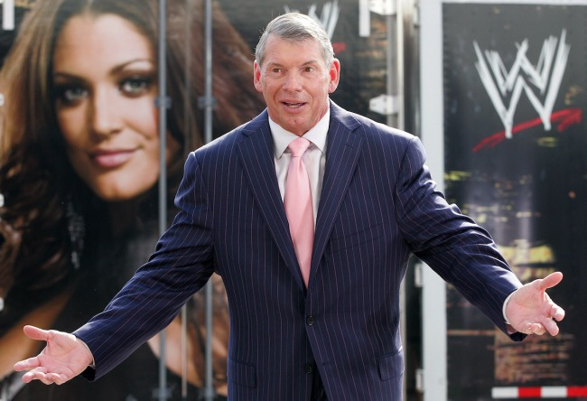 Vince McMahon Jacket Thrift Store
