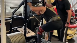Vince McMahon Squatting Close To 1000 Pounds Is Insane Considering His Age