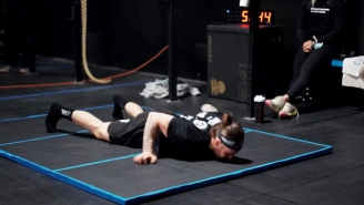 Guy Sets Chest-To-Ground Burpee World Record By Doing One Every Four Seconds