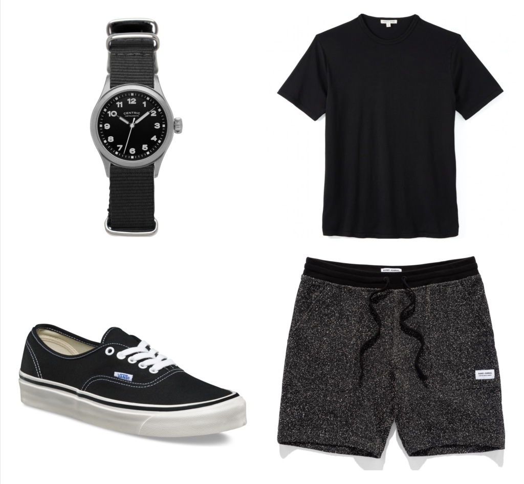 all black men's fashion and gear apparel and accessories