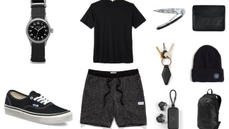 Stylish Blacked Out Daily Gear For Guys