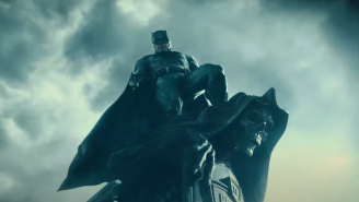 'The Flash' Set Photos Reveal Ben Affleck's Batman On A Motorcycle Just Like Christian Bale's Dark Knight