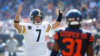 The Bears Are So Desperate For A Competent QB That They Reportedly Considered Signing Ben Roethlisberger