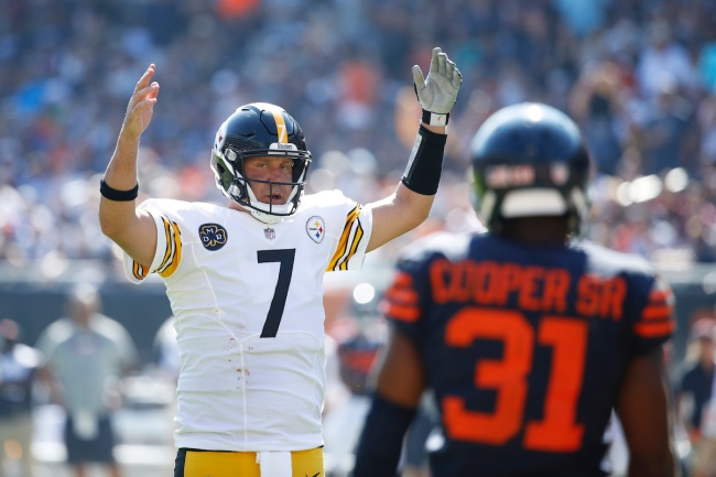 According to sources, the Chicago Bears considered signing Ben Roethlisberger prior to the Steelers re-signing the quarterback
