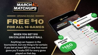 BetMGM Deal: Get $160 In FREE Bets When Betting $10 On Any First Round Game In College Basketball's Big Tourney