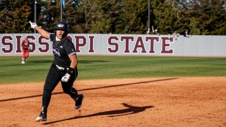 Mississippi State's Fa Leilua Was Downright Disrespectful With Walk-Off Pimp Jobs In Back-To-Back Days