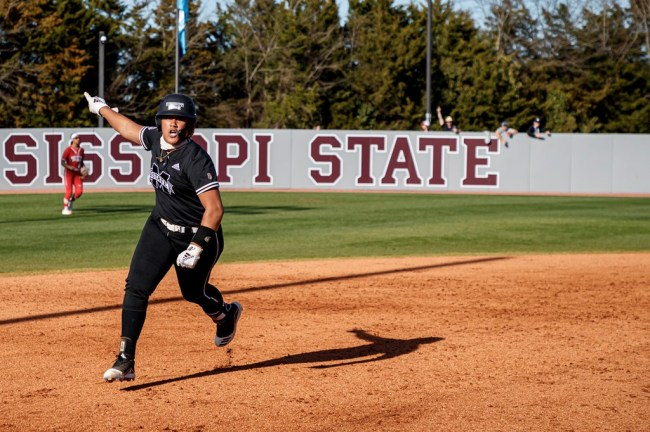 Fa Leiula Mississippi State Softball