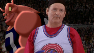 The Air Jordans Bill Murray Wore In 'Space Jam' Are Being Auctioned Even Though They're Priceless
