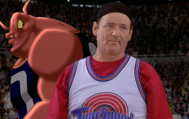 bill murray space jam sneakers auction