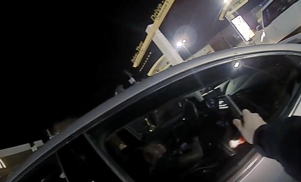 police body camera footage ohio state marcus hooker arrest ovi