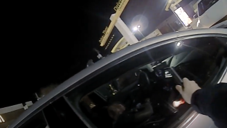 Body Cam Footage Of Ohio State's Marcus Hooker Passed Out In Drive-Thru Shows Cops Trying Everything To Wake Him