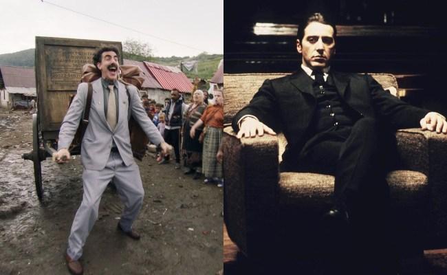 borat godfather academy awards