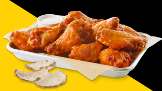 Buffalo Wild Wings Is Classing Things Up With A Hot Sauce Made With Real Truffles