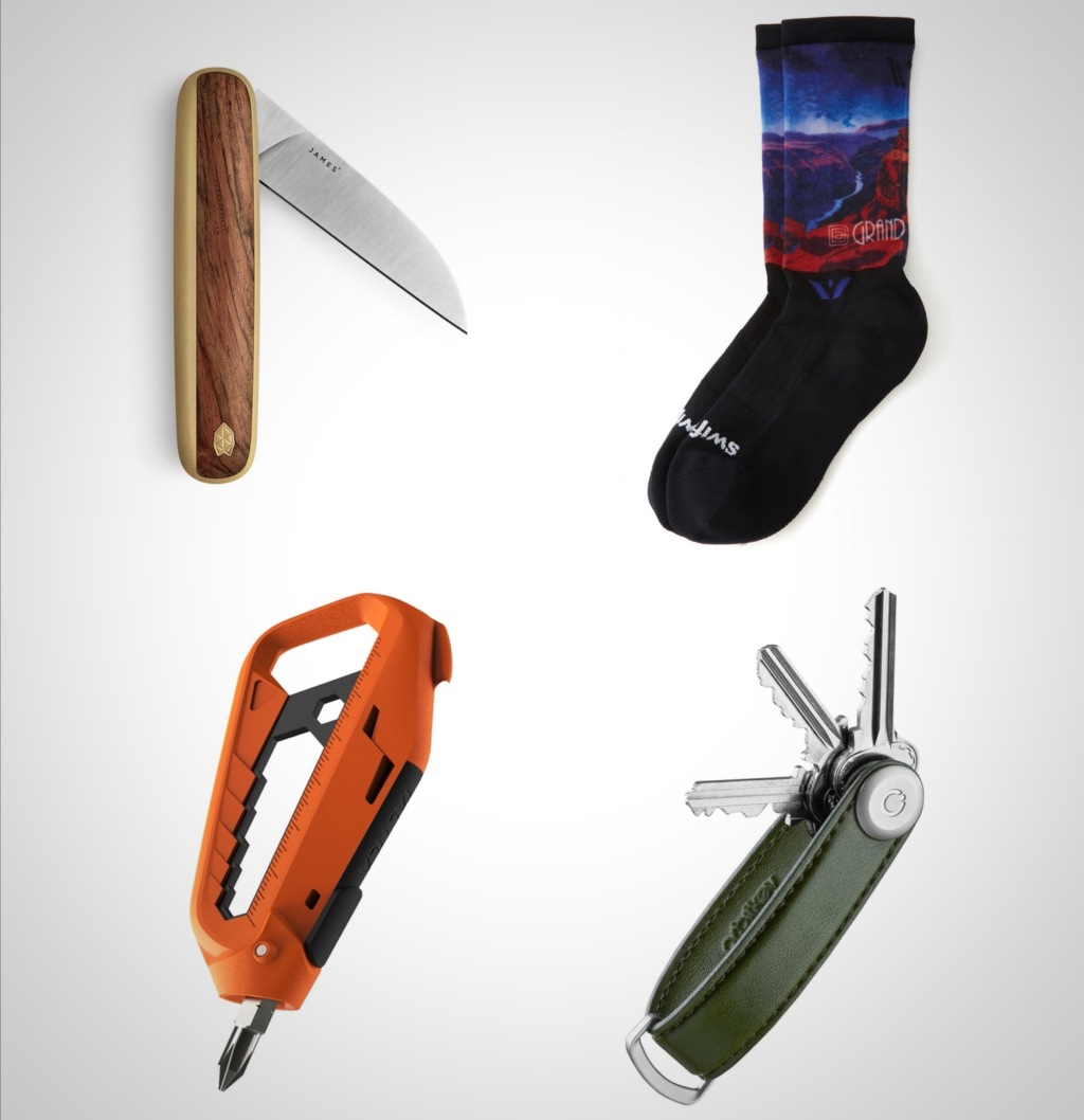 colorful Spring 2021 everyday carry gift ideas