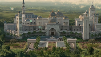 The Lavish Palace In 'Coming 2 America' Is Actually A Giant Mansion Owned By Rick Ross