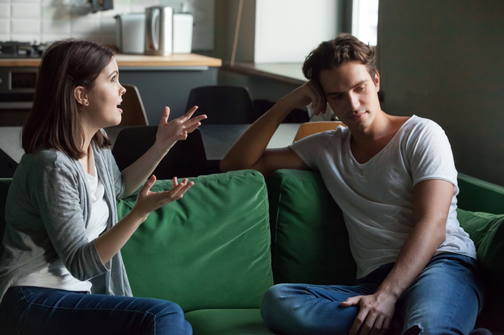 meaningless conversations couples talking