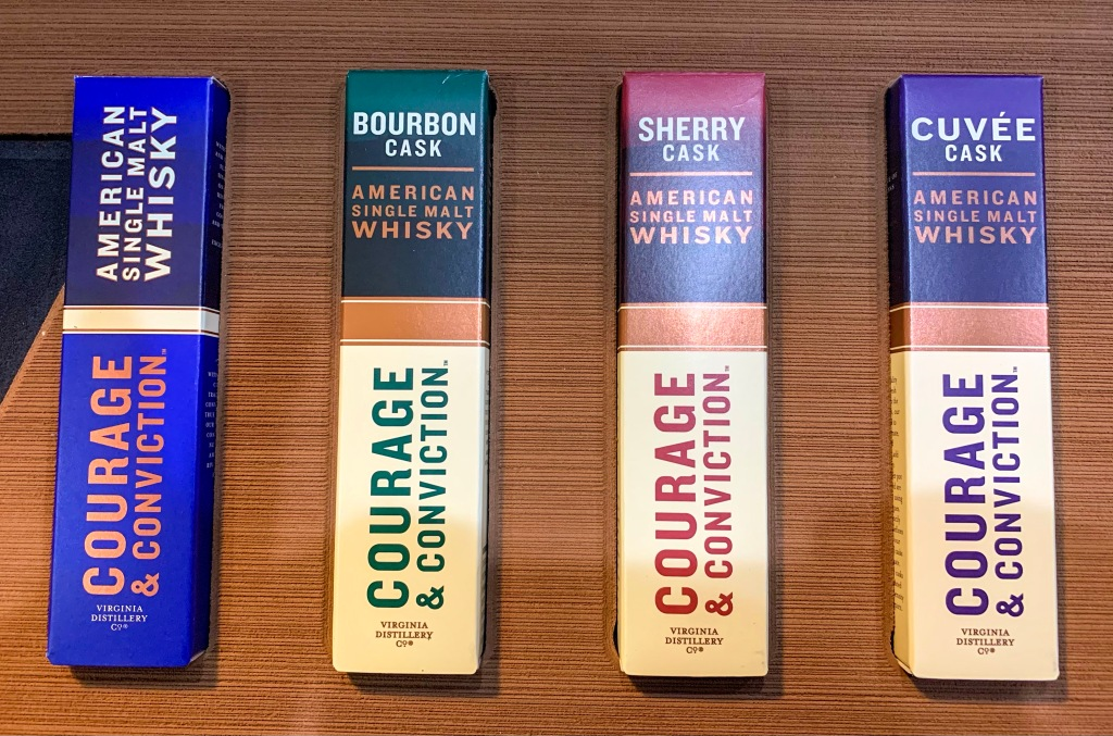 Courage and Conviction Whisky new expressions