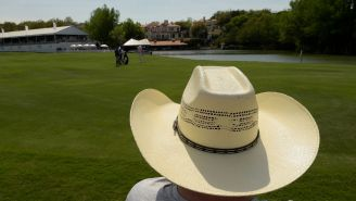 Golfer Shows Up To PGA Tour Qualifier Wearing A Cowboy Hat, A Button-Down, And A Knife On His Belt